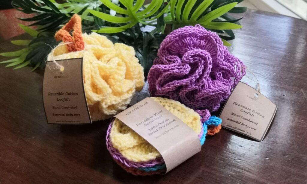 Crochet Scrub